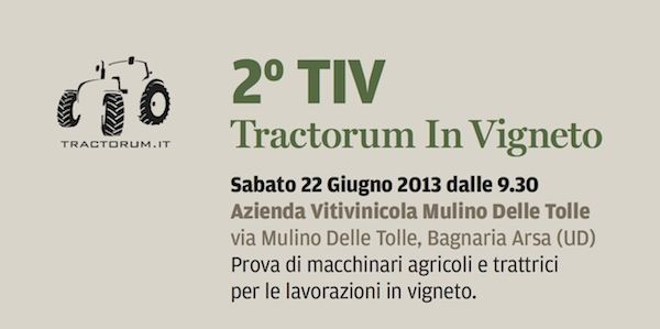 Tractorum in vigneto